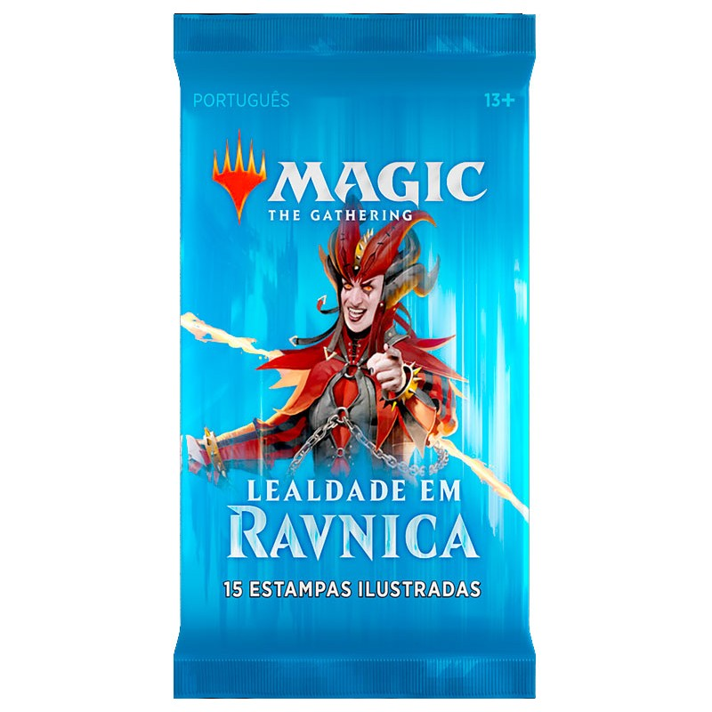 Booster Magic:The Gathering Lealdade em Ravnica Wizards of the Coast