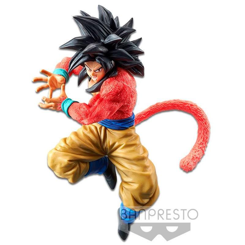 Boneco Dragon Ball Gt Son Goku Super Saiyajin 4 Kamehameha Bandai Banpresto