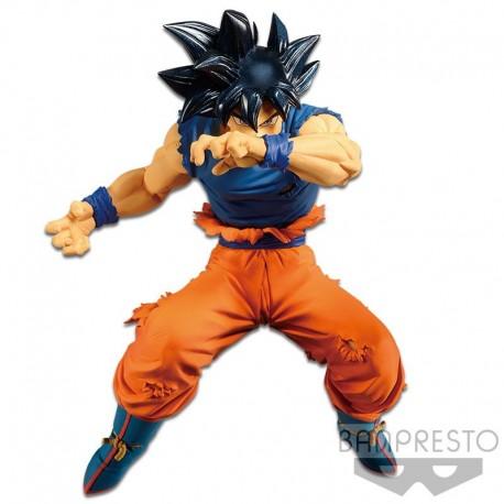 Boneco Dragon Ball Super Goku Instinto Superior Blood Of Saiyans Special Ii Bandai Banpresto